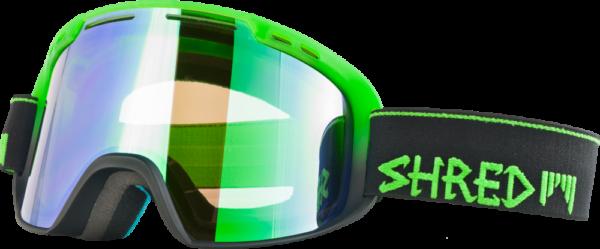 Shred Amazify Dark Fader Green + Bonus Lens